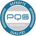 Wir sind PQS-zertifizierter Hilfsmittel-Anbieter, Bereich Perücken
